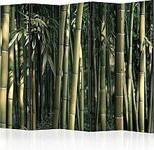 murando Raumteiler & Pinnwand Foto Paravent Bambus