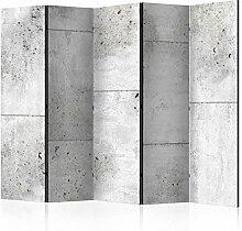 murando Raumteiler & Pinnwand Foto Paravent Beton