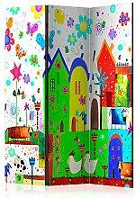 murando Raumteiler & Pinnwand Foto Paravent für