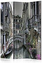 murando Raumteiler & Pinnwand Foto Paravent Stadt