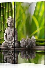 murando Raumteiler Spa Zen Buddha Foto Paravent