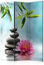 murando Raumteiler Spa Zen Foto Paravent 135x172