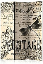 murando Raumteiler Vintage Abstrakt Foto Paravent