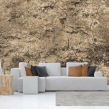 murando - Vlies Fototapete 250x175 cm - Vlies Tapete - Moderne Wanddeko - Design Tapete - Beton f-A-0547-a-c
