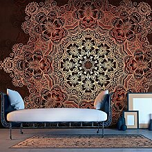 murando - Vlies Fototapete 500x280 cm - Größe Format XXL- Vlies Tapete - Moderne Wanddeko - Design Tapete - Mandala Ornament f-A-0546-x-b