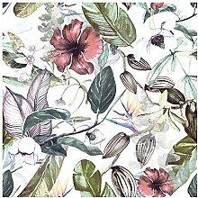 murando Vlies Tapete Tropische Blätter - Deko