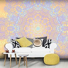 murando - XXXL Fototapete 600x280 cm - Größe Format 6m - Vlies Tapete - Moderne Wanddeko - Design Tapete - Mandala Ornament f-A-0546-x-h