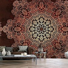 murando - XXXL Fototapete 600x280 cm - Größe Format 6m - Vlies Tapete - Moderne Wanddeko - Design Tapete - Mandala Ornament f-A-0546-x-f