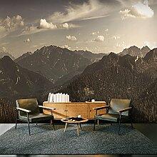 murando - XXXL Fototapete 600x280 cm - Größe Format 6m - Vlies Tapete - Moderne Wanddeko - Design Tapete - Landschaft Gebirge Natur c-A-0104-x-g