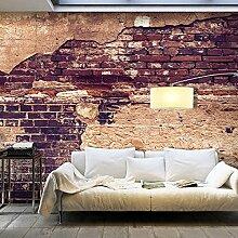 murando - XXXL Fototapete 600x280 cm - Größe Format 6m - Vlies Tapete - Moderne Wanddeko - Design Tapete - Ziegel Ziegelstein f-A-0503-x-h