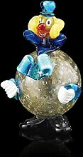 Murano Clown Muranoglas, Glas, mehrfarbig, klein