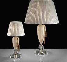 Murano Collection Tischlampe gold,Handgefertigt in