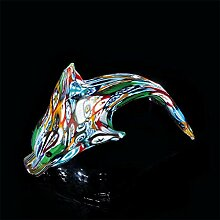 Murano Delfin Muranoglas, Glas, mehrfarbig, klein