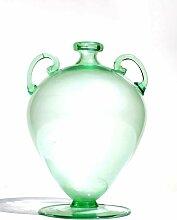 Murano Glas Soffiati Vase von Vittorio Zecchin