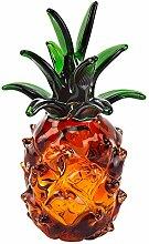 Murano Stil mundgeblasen Art Glas 20,3cm Ananas
