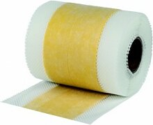 Murexin Dichtband 70, 10 Lfm, Gelb, Abdichtband Bad, Dichtband Dusche Abdichtband Fliese