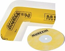 Murexin Dichtband70 - 4 Innenecken + 2 Wandmanschetten, gelb, Abdichtung Bad, Dichtecken Dusche