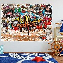 murimage Fototapete Graffiti 183 x 127 cm