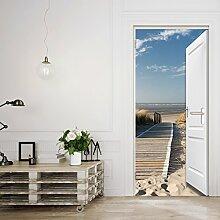 murimage Türtapete,Beach Door TT3' 86cm x