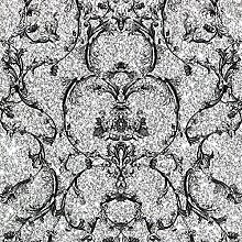 Muriva Couture silber Barock Tapete 701344 Scroll