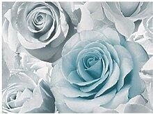 Muriva Tapete - Blau - 119503 - Madison - Rose -