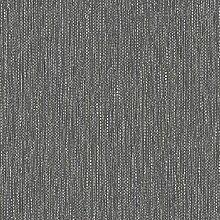 Muriva Tapete J3150912 Tapetenrolle, Gewebe-Design, Schwarz