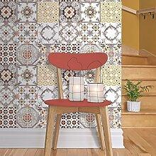 Muriva Tapete Kachel-Design, für Küche/Bad, Vinyl, Motiv: J95605
