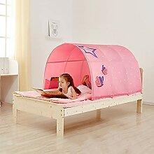 Murnk Kinderbett Zelt Tunnel Bett Himmelbett