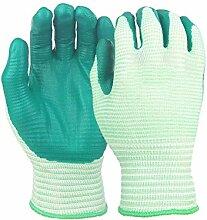 Muse's Eyes Schnittfeste Schutzhandschuhe Abrieb Handschutz Grün