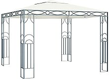 MUSEVANE Pavillon 300 x 300 cm Cremeweiß