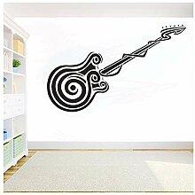 Musikinstrumente Gitarre Diy Aufkleber
