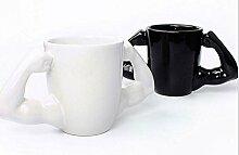 Muskel-Form-Keramikbecher, Kaffeetasse, 2