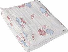 Musselin Baumwolldecke Newborn Baby Blanket