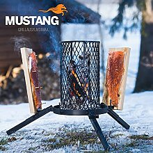 Mustang Flammlachs Grill | Feuerkorb | Lachsgrill