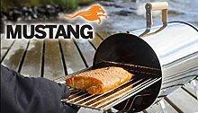 Mustang Räucherofen 1100 Watt inkl. Räucherchips Erle u. Abdeckung Finnland