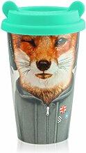 MUSTARD - Coffee Fox Cup I Kaffee-to-Go Becher mit