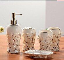 Muster Badezimmer Set Badezimmer Badezimmer keramik-Kit Weiß