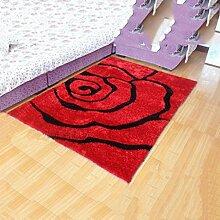 Muster Teppich Wohnzimmer Kaffetisch Wasseraufnahme Teppich Schlafzimmer Bedside Matten Teppich , C , 1.2*1.7
