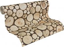 Mustertapeten - A.S. Création holzoptik Tapete Dekora Natur 6 Holzfarben