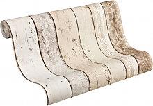 Mustertapeten - A.S. Création holzoptik Tapete New England Beige, Braun, Weiß