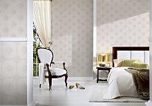 Mustertapeten - Architects Paper Mustertapete Textiltapete Tessuto 2 Creme, Grau