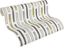 Mustertapeten - Architects Paper Tapete AP 2000 DashLine grün
