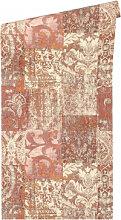 Mustertapeten - Architects Paper Tapete Luxury Classics creme, metallic, rot