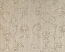 Mustertapeten - Mustertapete Architects Paper Textiltapete Haute Couture Beige, Braun