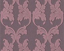Mustertapeten - Mustertapete Architects Paper Textiltapete Tessuto Pastellviolett, Rotlila