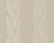 Mustertapeten - Mustertapete Architects Paper Textiltapete Tessuto Graubeige, Perlweiß