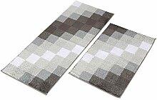 MustMat Küchenteppich-Set, rutschfest, für