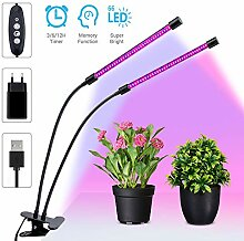 MustWin LED Pflanzenlampe 30W Grow Lampe UV