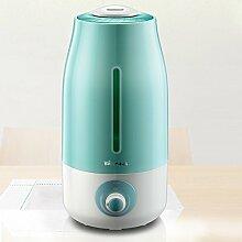 Mute luftbefeuchterheim-schlafzimmerbüro klimaanlage zimmer luftreinigermini portable air aromatherapie machine-grün