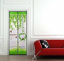 Mute mosquito curtain/magnetische,weiche garn tür/hohe denisity,schlafzimmer-cana-A 90x200cm(35x79inch)